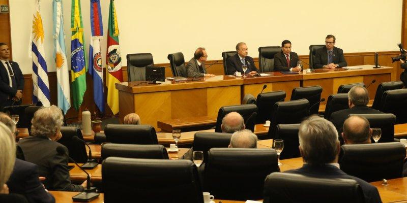 Vice-presidente Hamilton Mourão na FIERGS