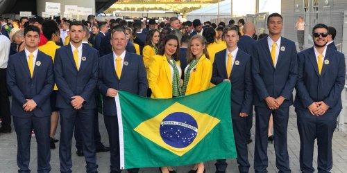 Comitiva gaúcha - WorldSkills 2019